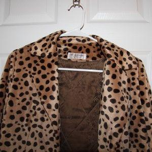 Jackets & Blazers - Women's Animal Print blazer